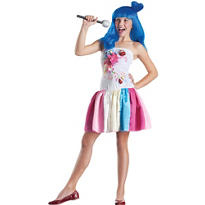 Girls Candy Girl Pop Star Costume