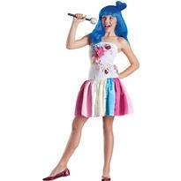 Girls Candy Girl Pop Star Costume