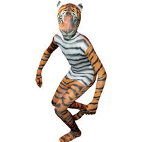 Boys Tiger Morphsuit