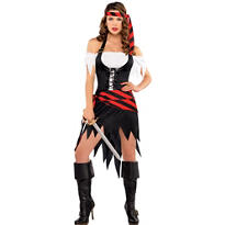 Adult Rogue Maiden Pirate Costume