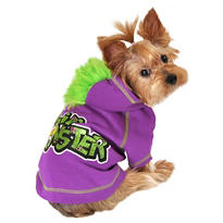 Purple Li'l Monster Dog Hoodie
