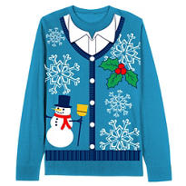 Snowman Vest Christmas Sweater