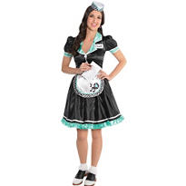 Adult Dinah Delight Waitress Costume