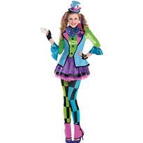 Teen Girls Sassy Mad Hatter Costume