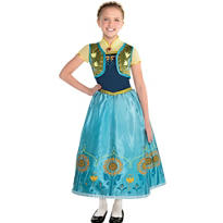 Girls Anna Costume Supreme - Frozen Fever