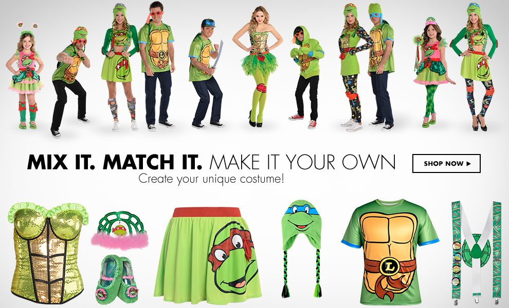 Shop Mix it. Match it. TMNT Costumes