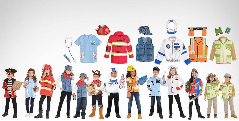 Shop Now Amazing Me Career Costume Kits