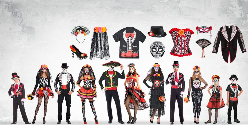 Day of the Dead Costume Accessories