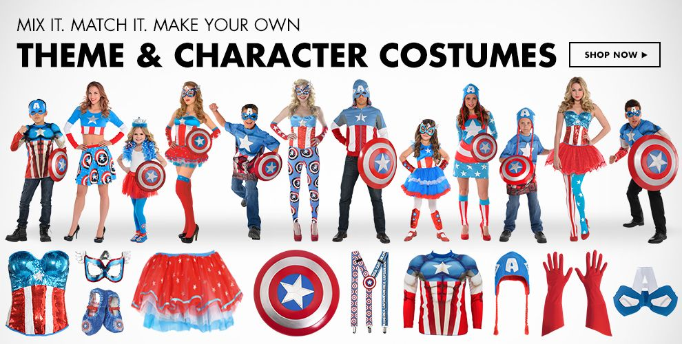 Theme & Character Halloween Costumes