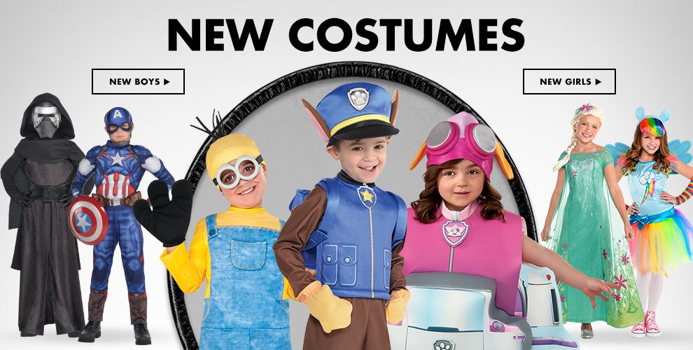 New Boys & Girls Costumes