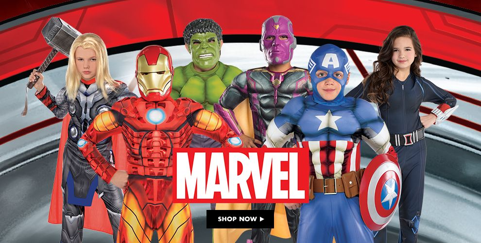 Shop Marvel Costumes & Accessories