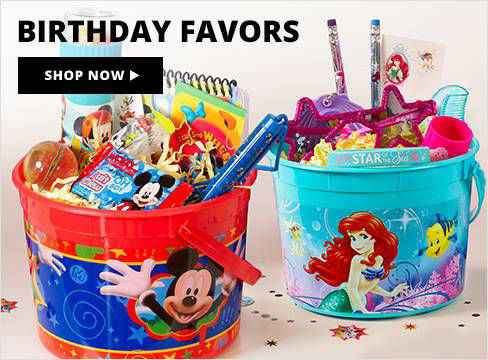 Birthday Favors Shop Now