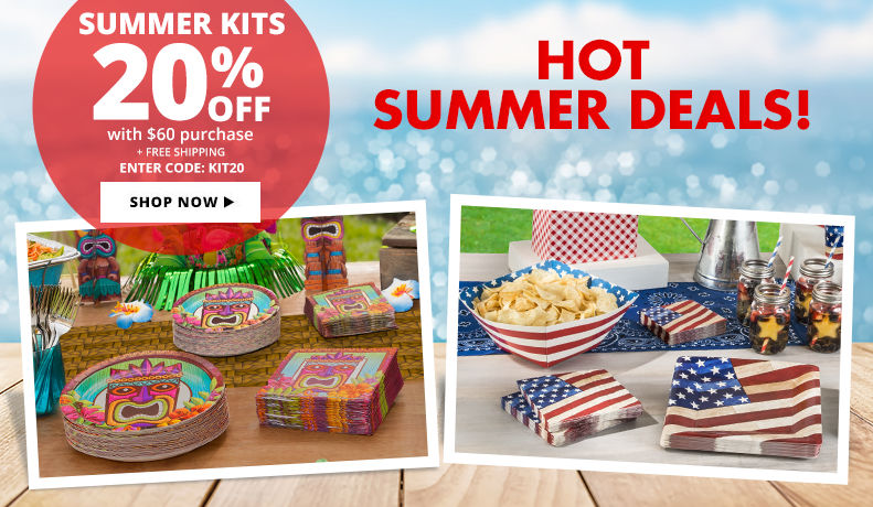 Summer & Patriotic Kits – 20%off