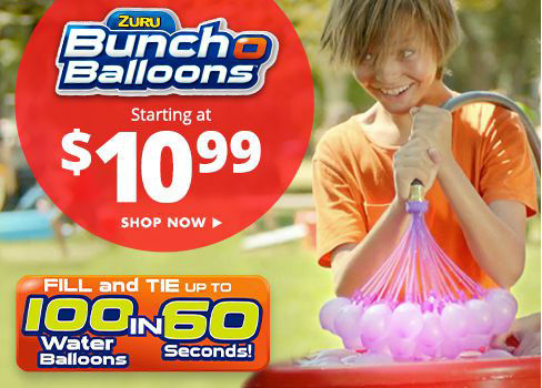 Bunch O Balloons - starting at $10.99