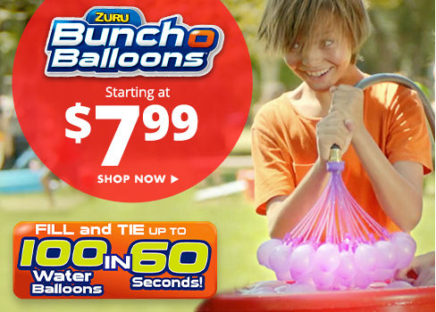 Bunch O Balloons - starting at $7.99