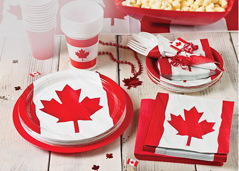 Canada Day Party Supplies