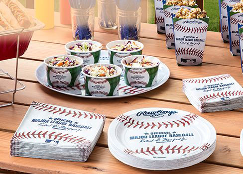 MLB Party Supplies