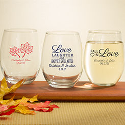 Personalized Fall Favors