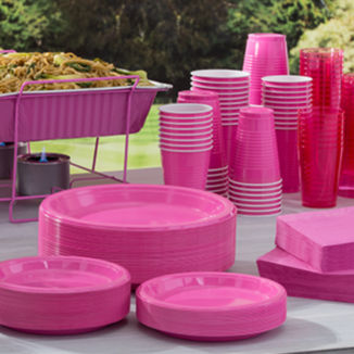 Solid Color Tableware 21 Colors