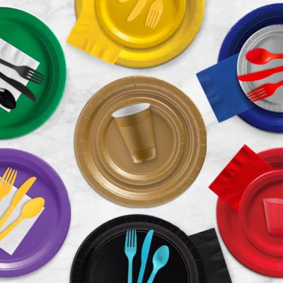 Color Tableware in 21 Colors