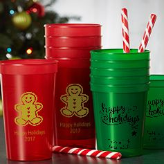 Personalized Christmas Cups
