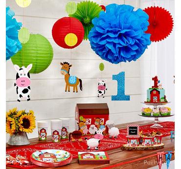 Farm Fun Decorations Idea