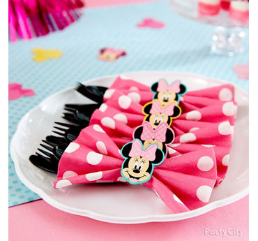 Minnie Cutlery Pack Idea