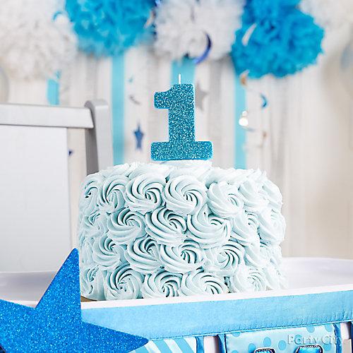 Twinkle Boy First Birthday Smash Cake