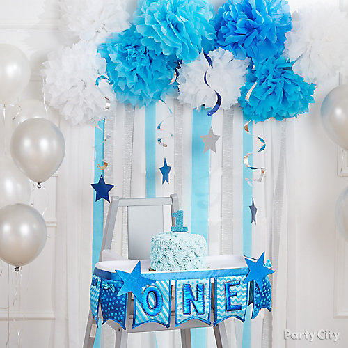 Twinkle Boy First Birthday Highchair Idea & Twinkle Boy First Birthday Highchair Idea - First Birthday Party ...