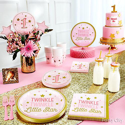 Twinkle First Birthday Theme Idea