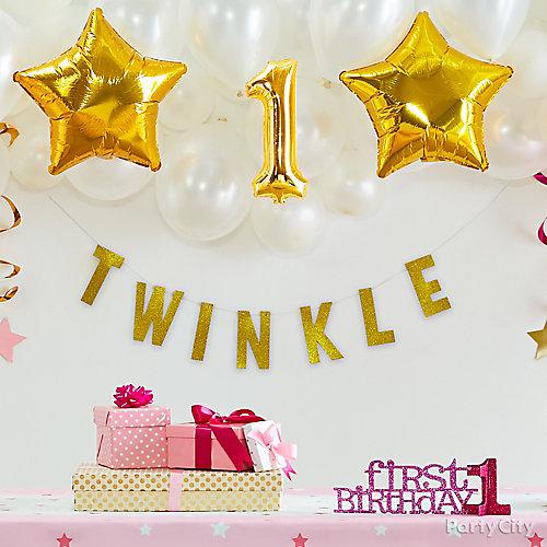 Twinkle Star Balloon Backdrop