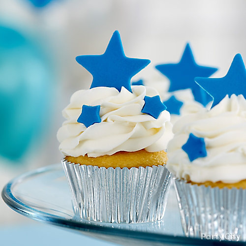 Twinkle Star Cupcakes Idea
