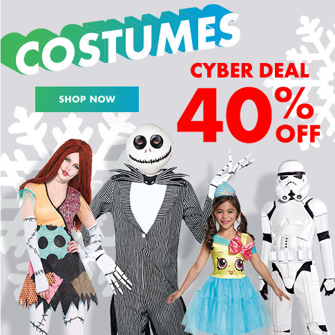 SALE 40% off Costumes Shop Now
