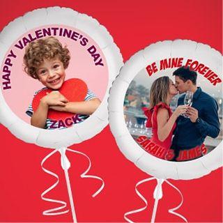 Custom Valentine's Day Balloons