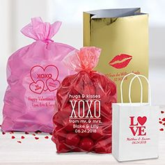 Personalized Valentine's Bags & Boxes