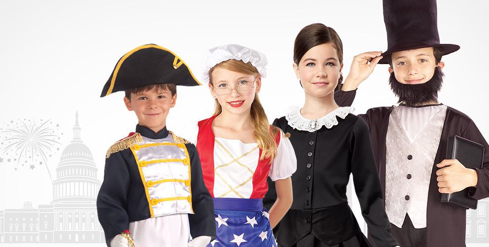 Heroes in History Costumes & Accessories Shop Now