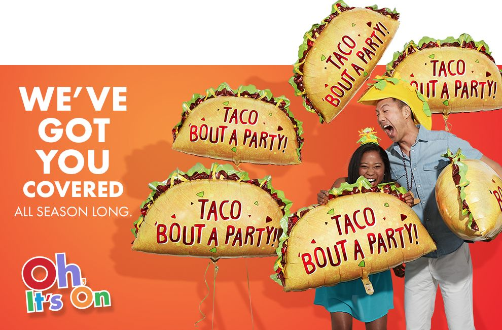 We've Got You Covered All Season Long &mdas; Taco Bout A Party