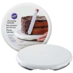 cake decorating turntable wilton cake decorating turntable 12in city 2217