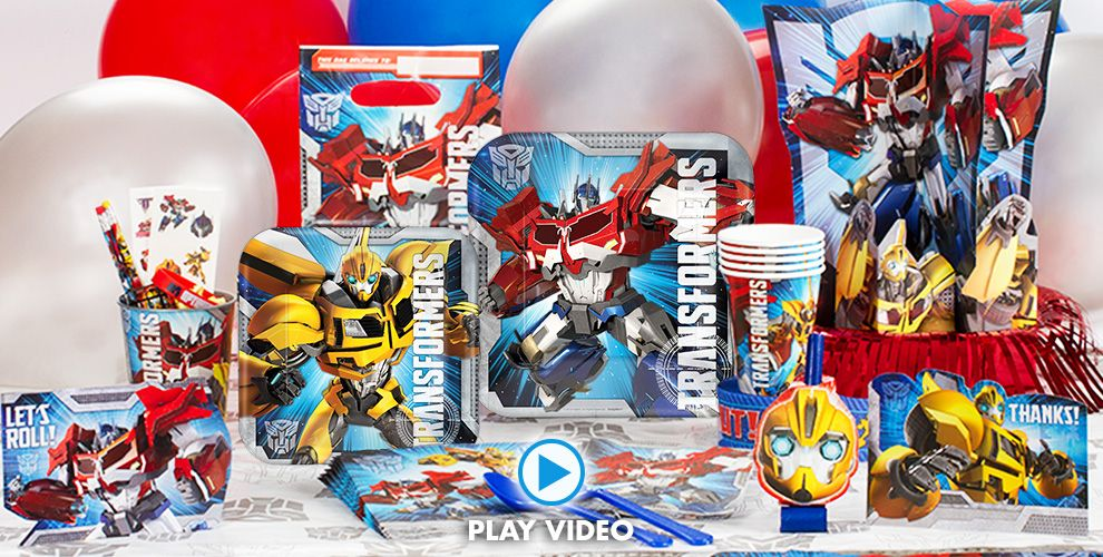 Transformers Party Supplies #1