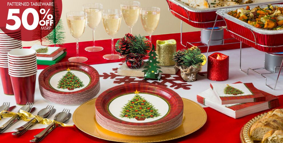 Twinkling Tree Party Supplies