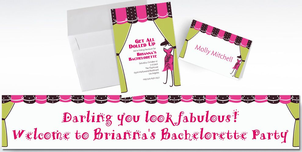 Custom Boutique Invitations & Thank You Notes