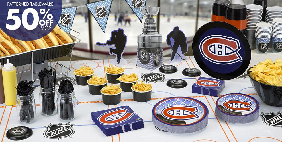 NHL Montreal Canadiens Party Supplies