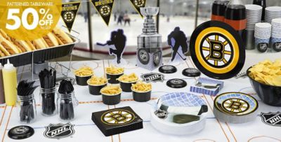 NHL Boston Bruins Party Supplies Party City