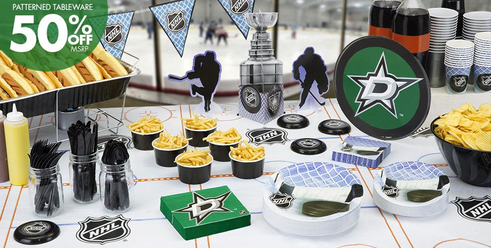NHL Dallas Stars Party Supplies