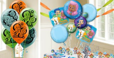Bubble Guppies Balloons Party City