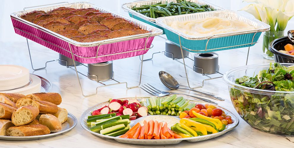 Chafing, Aluminum Pans
