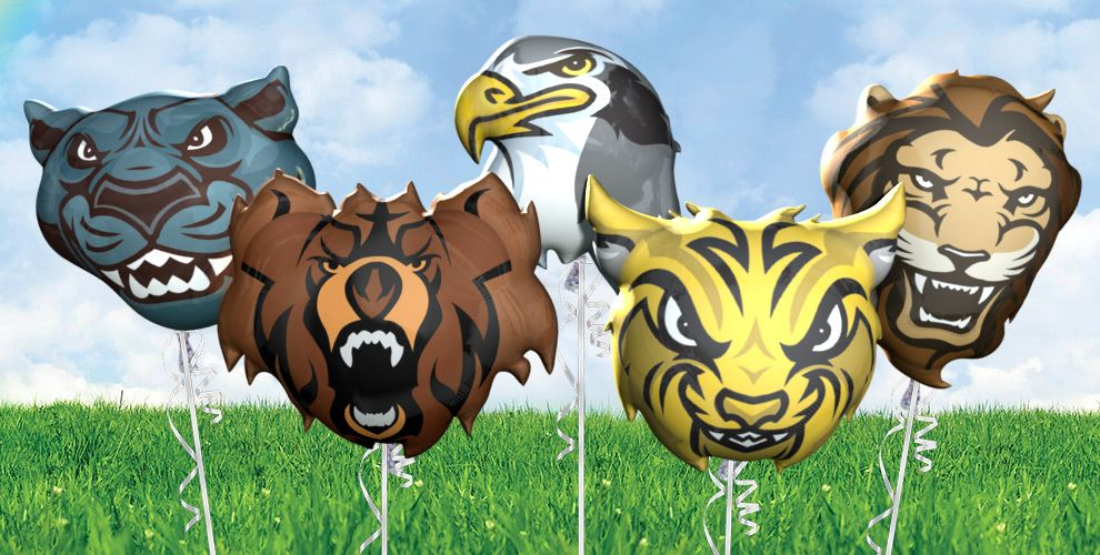 mascots balloons