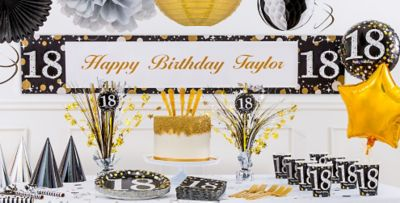 Sparkling Celebration 18th Birthday Party Supplies Party City
