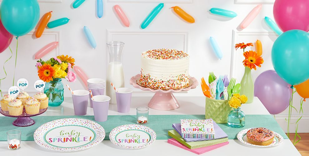 Sprinkle Baby Shower Supplies