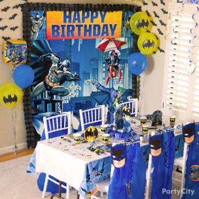 Batman Party Table Idea Party City Party City